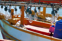 Fischereiausrüstung Lizenzfreie Stockfotografie