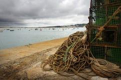 Fischereiausrüstung Stockfotos