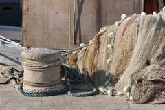 Fischereiausrüstungen stockfotos