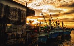 Fischereiboot in Thailand Lizenzfreie Stockbilder