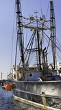 Fischereifahrzeug stockfotografie