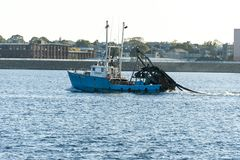 Fischereifahrzeug neues Meer Rover stockfoto