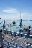 Fischereigerät Stockfotografie