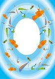 Fischereigeräte Stockbilder