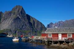 Fischereihafen stockfoto