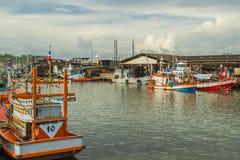 Fischereihafen Lizenzfreie Stockfotografie