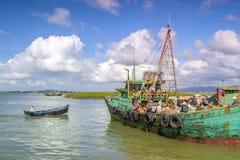 Fischereihafen Stockfotos