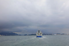 Fischereihafen bei Mojiko 2016 Lizenzfreie Stockbilder