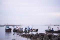 Fischereiküste Lizenzfreie Stockbilder