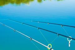 Fischereizeilen Stockbild