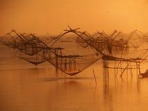 Fischerfischerei Stockfoto