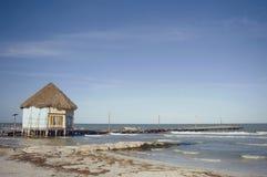 Fischerhaus lizenzfreies stockbild