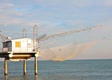 Fischerhaus in Italien Stockfotografie