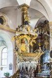 Fischerkanzel famoso en la abadía de Trunesco Imagen de archivo
