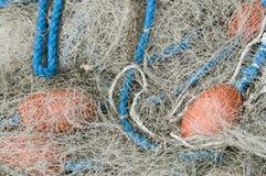 Fischernetz Stockfoto