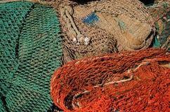 Fischernetz lizenzfreies stockbild