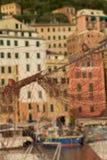 Fischernetz, Camogli in Ligurien Lizenzfreie Stockfotografie