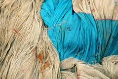 Fischernetz-Hintergrund Lizenzfreie Stockfotografie