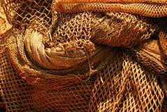 Fischernetze Stockfotografie