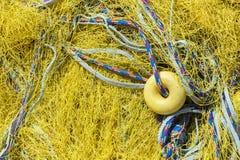 Fischernetze Stockfotos