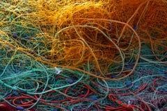 Fischernetze Lizenzfreie Stockfotografie