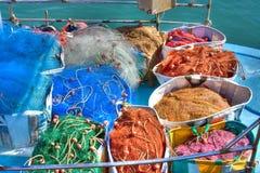 Fischernetze Lizenzfreies Stockbild