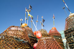 Fischerwerkzeuge lizenzfreies stockfoto