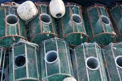 Fischfallen Stockbilder