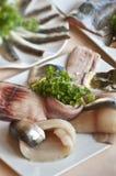Fischfilets stockbild