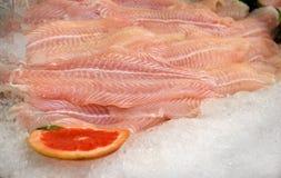 Fischfilets Stockfoto