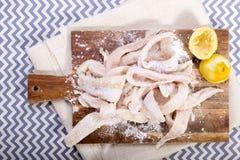 Fischfilets Stockfotos