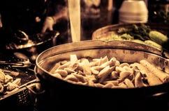 Fischfleischklöschen Lizenzfreies Stockbild