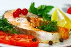 Fischgericht Stockfotos
