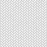 Fischgrätenmuster-Muster Rechteckplatten Tessellation Nahtloses Oberflächendesign mit Weißschräge blockiert Tiling vektor abbildung