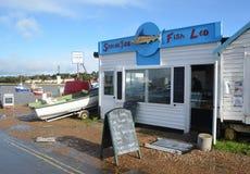 Fischhändler Felixstowe Ferry Lizenzfreies Stockbild
