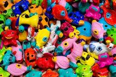 Fischi dell'argilla Fotografia Stock