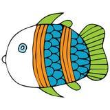 Fischillustration Stockbild