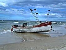 Fisching小船 库存图片