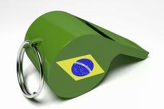 Fischio brasiliano Fotografia Stock
