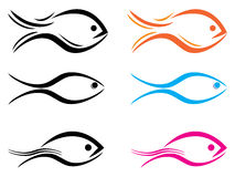 Fischlogo Lizenzfreies Stockbild