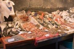 Fischmarkt Stockfoto