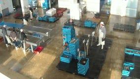 Fischmarkt in Hong Kong stock footage