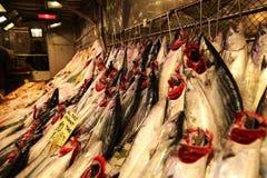 Fischmarkt in Kadikoy Istanbul lizenzfreie stockfotografie