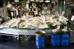 Fischmarkt, Pike-Platz-Markt, Seattle Lizenzfreie Stockbilder