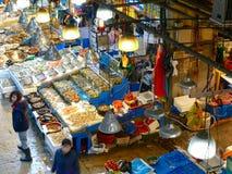 Fischmarkt in Seoul Stockfoto