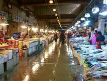 Fischmarkt in Seoul Stockfotografie