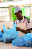Fischmarkt in Victoria, Seychellen Lizenzfreie Stockbilder
