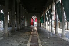 Fischmarkt von Venedig Stockfotografie