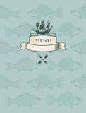 Fischmenü Lizenzfreie Abbildung