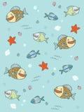 Fischmuster Stockfotografie